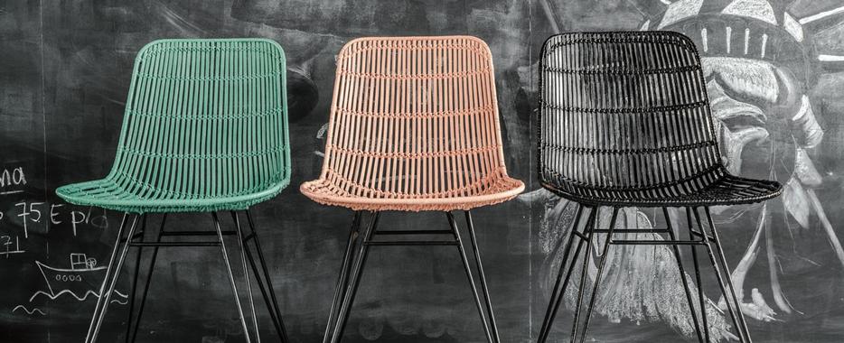 Rotan stoelen