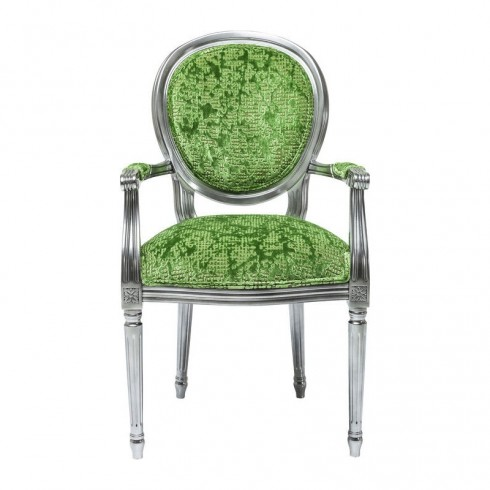 Kare Design Armstoel Posh Groen