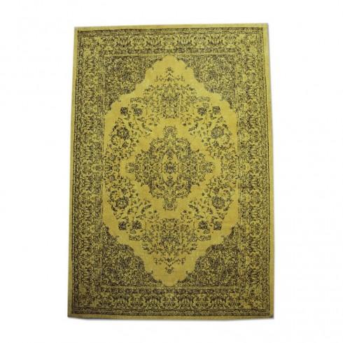 By-Boo tapijt Medallion geel