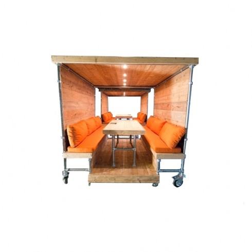 Steigerbuizen Mobiele Werkplek Cabine