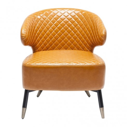 Kare design Cocktail Fauteuil Oranje