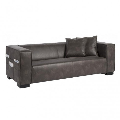 D-Bodhi River Orinoco Bank - Recycled Leather Grey