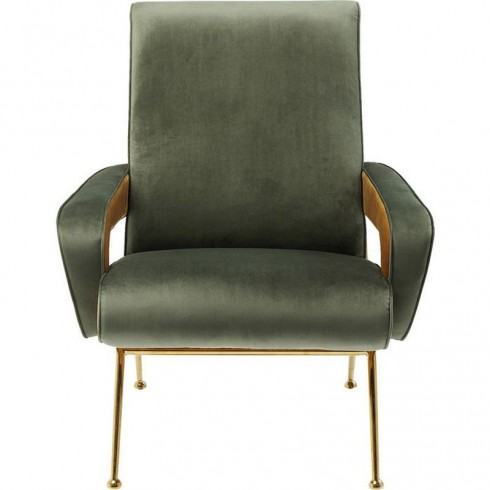 Kare Design Armstoel Chair Luna High Green