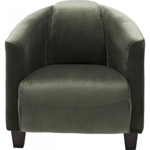 Kare Design Armstoel Cigar Lounge Velvet Green