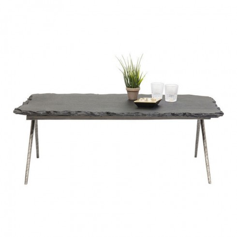 Kare Design koffietafel Pilla Stone 121x61 cm