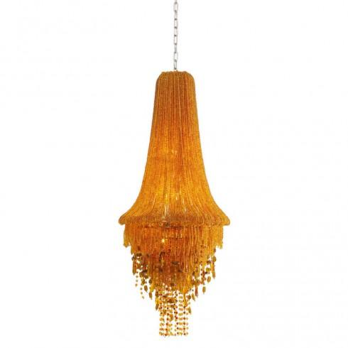 Kare Design Pendant Hanglamp Medusa Amber