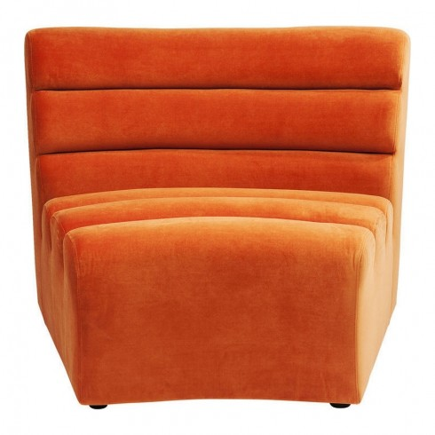 Kare Design Sofa Element Wave Orange