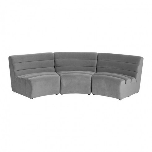 Kare Design Sofa Element Wave Grey - Set