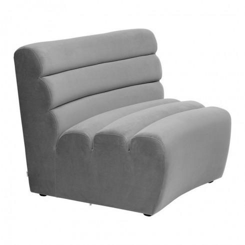 Kare Design Sofa Element Wave Grey