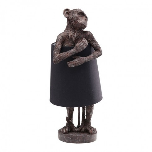 Kare Design tafellamp Monkey Brown Black