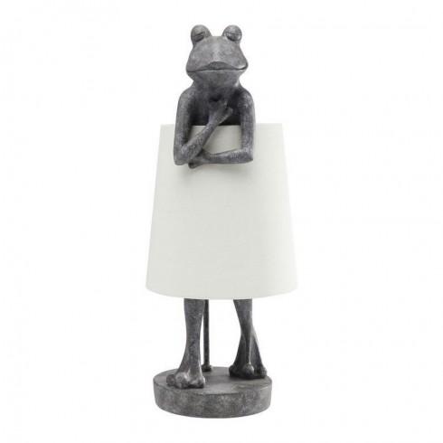 Kare Design tafellamp Frog Grey