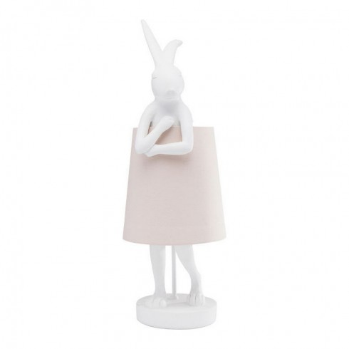 Kare Design tafellamp Rabbit White