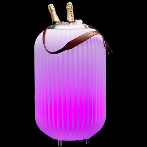 The.Lampion L van Nikki.Amsterdam - Bluetooth Speaker + Wijnkoeler Multicolor Lamp