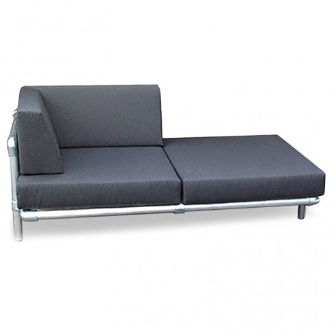 Steigerbuis Chaise Longue Loungebank