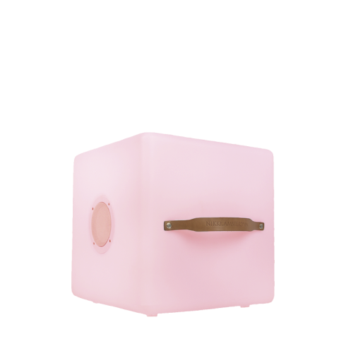 Nikki.Amsterdam The.Cube - Multicolor LED Kubus + Zitelement en Bluetooth Speaker