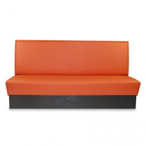 Treinbank in de kleur Nasturtium Orange (454293-b)
