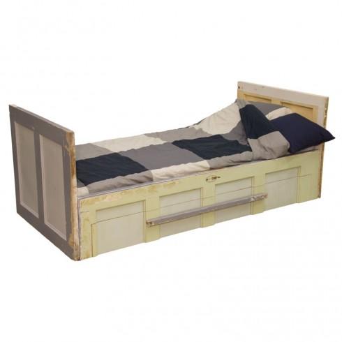 Van Abbevé Oude Deur Bed Met Lade