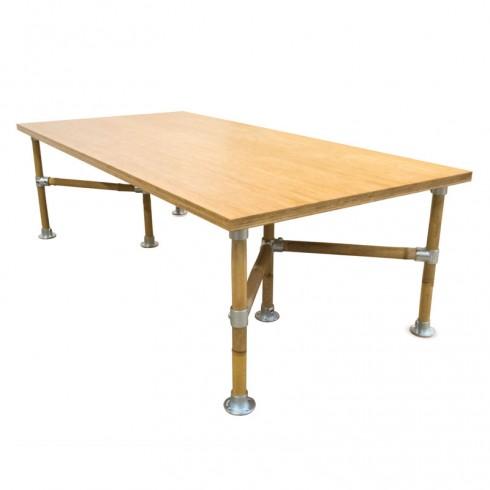 Van Abbevé Industriële Bamboe Tafel