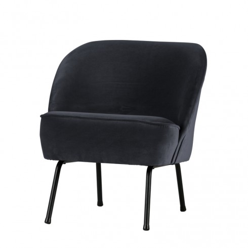 Be Pure Vogue Fauteuil Fluweel Inkt