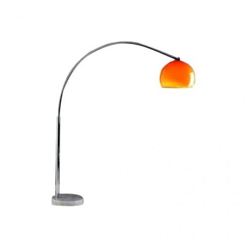 Zooff Designs Telesto Vloerlamp / Booglamp oranje