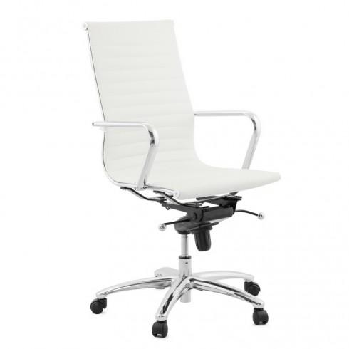 Zooff Designs Boxtel Hoog Bureaustoel wit