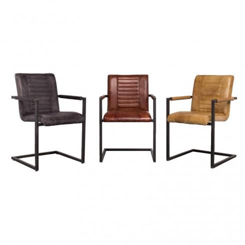 Zooff Designs Armstoelen Cuba, Cognac en Camel