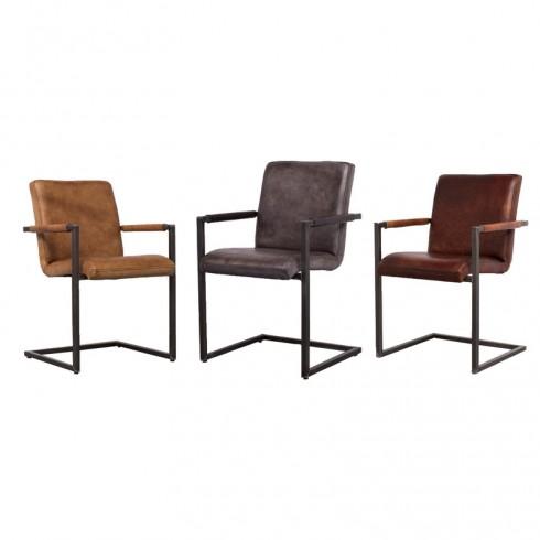 Zooff Designs Sam Armstoelen Light Brown, Cuba en Cognac