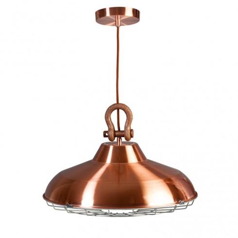 ETH Industry Hanglamp Koper
