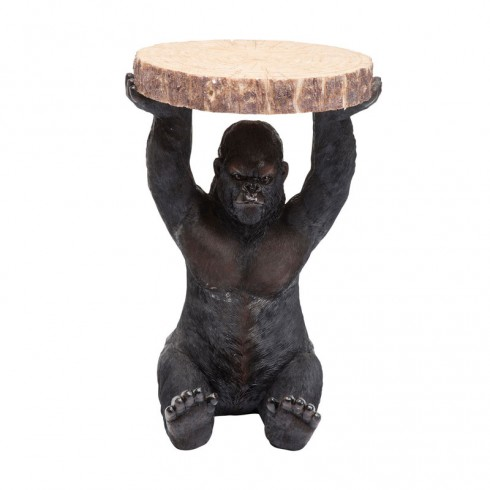 Zooff Kare Design Bijzettafel Gorilla Ø37cm