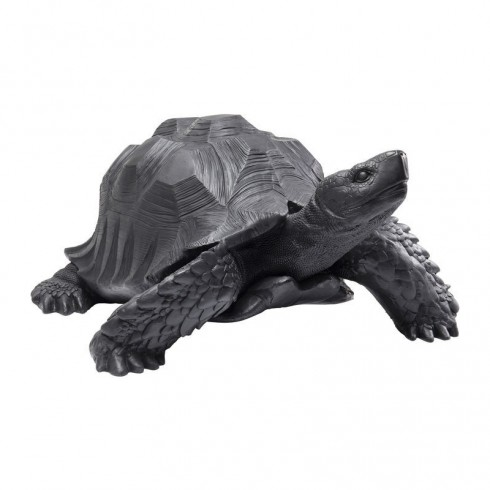 Zooff-Kare-Design-Deco-Figurine-Turtle-Black-Big