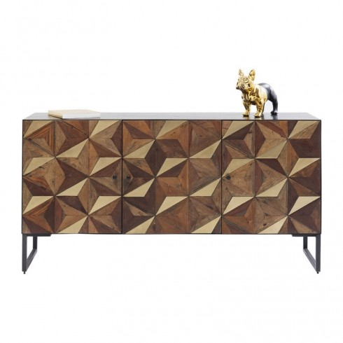 Zooff-Kare-Design-Dressoir-Illusion-Gold