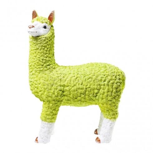 Zooff-Kare-Design-Money-Box-Alpaca-Lime-62cm