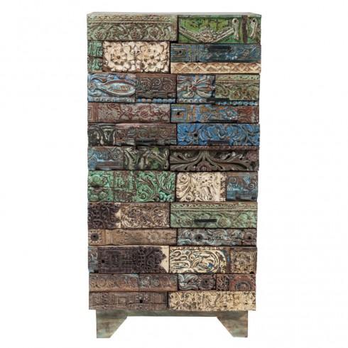 Zooff Kare Design Shanti Puzzle Kast 2 Deurs en 3 Lades