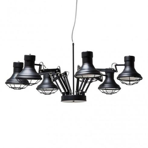 Zooff Kare Design Spider Pendant Hanglamp 6-lite