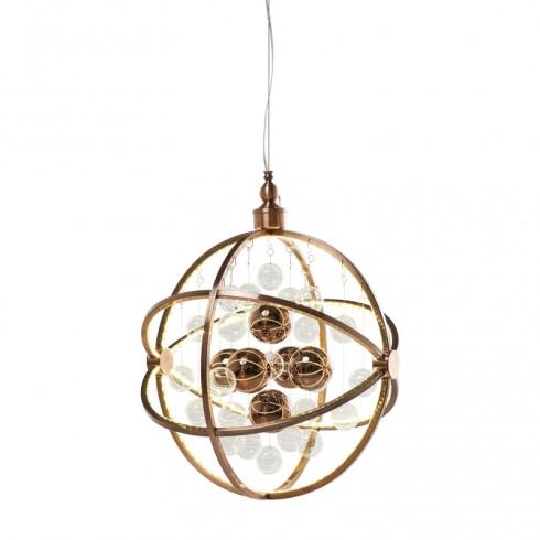 Zooff Kare Design Universum Koper LED Pendant Hanglamp