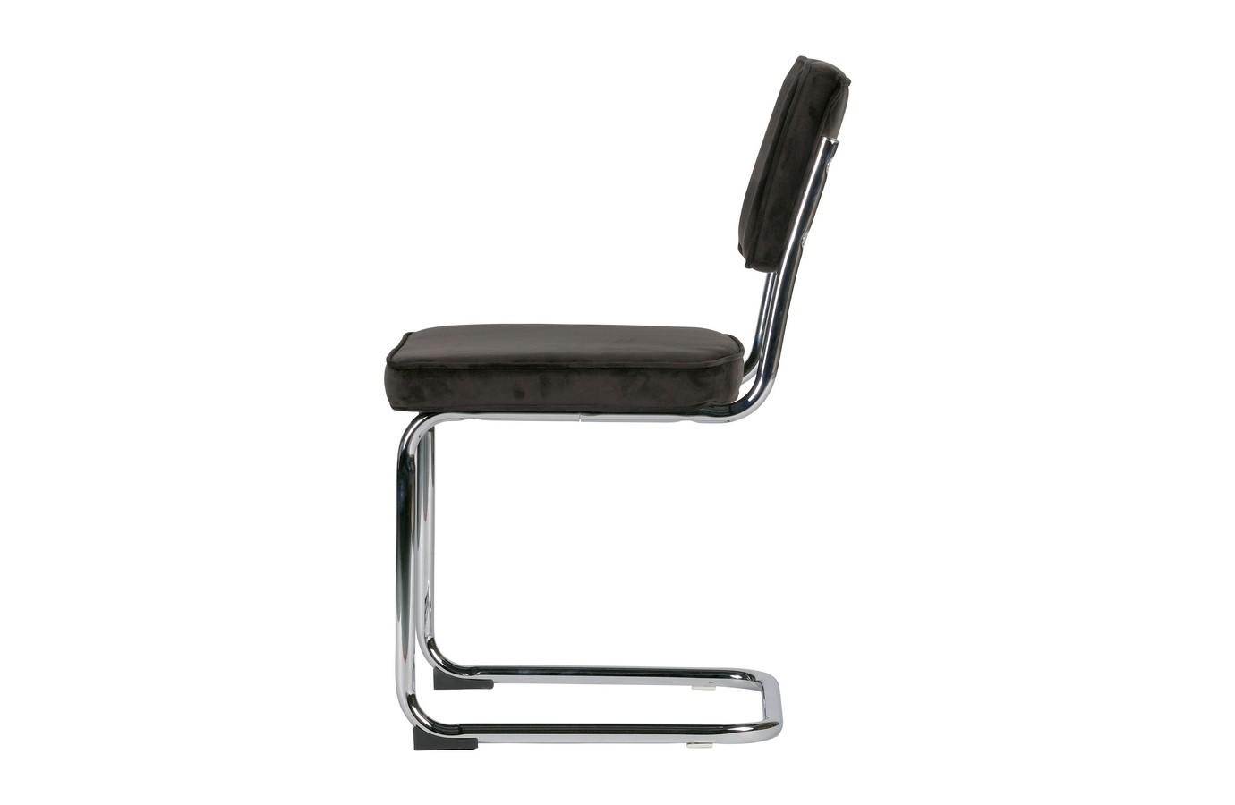 Be Pure Stoel : Be pure lien buisframe stoel donker bruin set van zooff