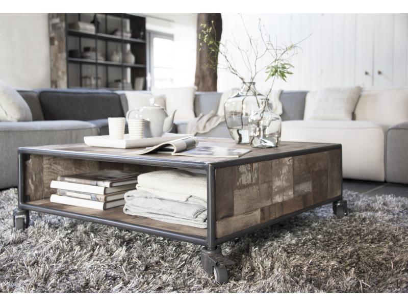 D bodhi pure houten salontafel vierkant zooff