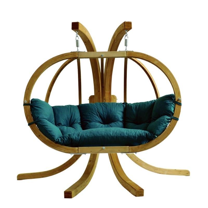 Globo Hangstoel Standaard.Globo Chair Hangstoel Tweepersoons Zooff Nl