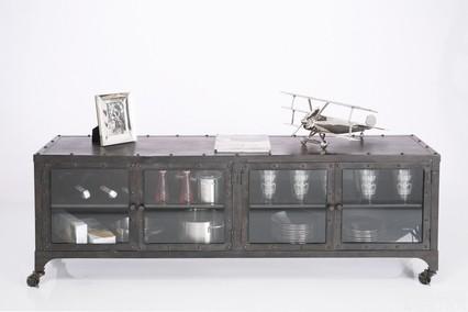 Design Tv Meubel Verrijdbaar.Kare Design Factory Metal Tv Meubel Zooff Nl