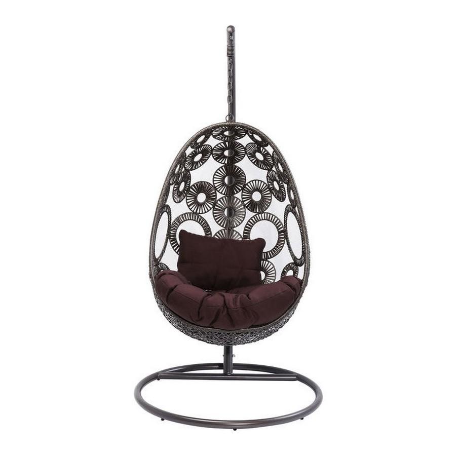 Design Hangstoel Binnen.Kare Design Hanging Chair Ibiza Zooff Nl