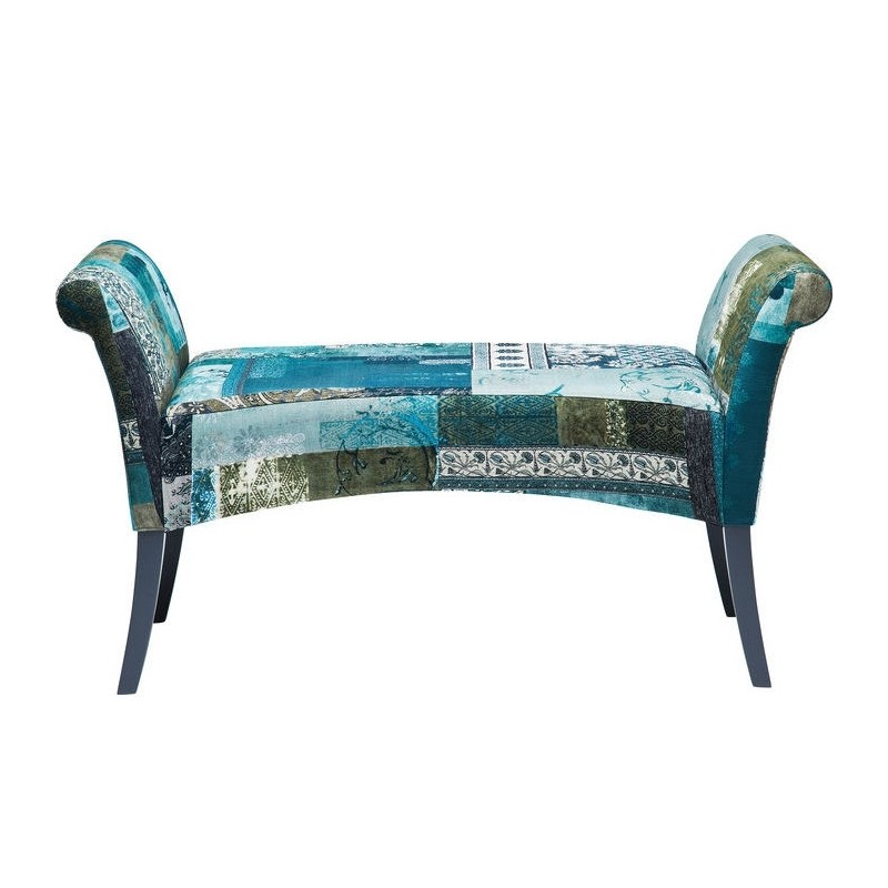 Blauwe Design Bank.Kare Design Motley Bank Blauw Zooff Nl