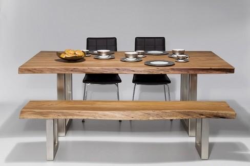 Design Eettafel Bank.Kare Design Nature Line Boomstam Tafel 200x105 Zooff Nl