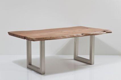 Kare design nature line boomstam tafel 180x90 for Kare design esstisch nature line