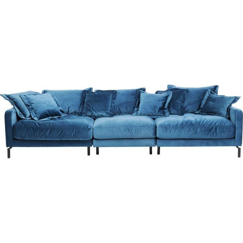 Blauwe Design Bank.Kare Design Bank Lullaby 3 Zitter Blauw Groen Zooff Nl