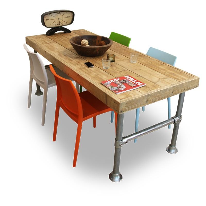 Compleet Eettafel Met 6 Stoelen.Van Abbeve Tuinset Met Houten Eettafel En Design Stoelen