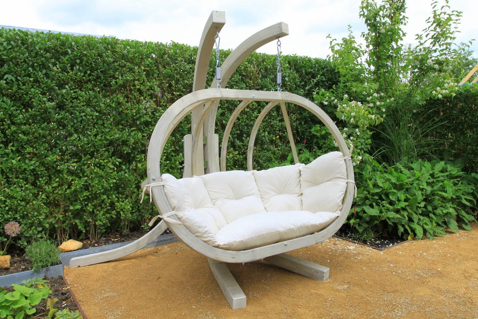 Hangstoel Voor In De Tuin.Globo Chair Hangstoel Tweepersoons Zooff Nl