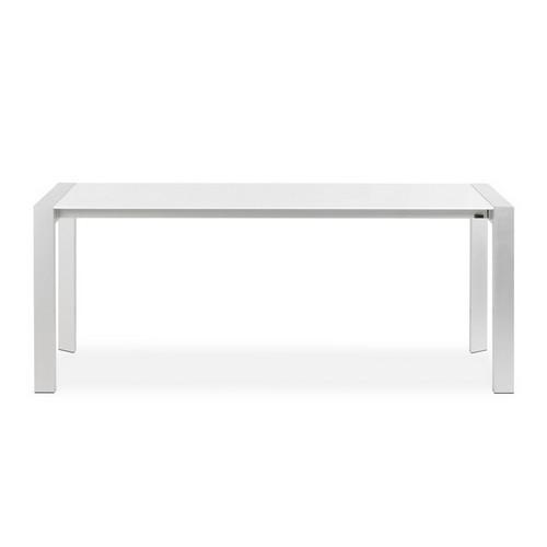 Witte Uitklapbare Tafel.Zooff Designs Montana Uitschuifbare Tafel Wit Zooff Nl