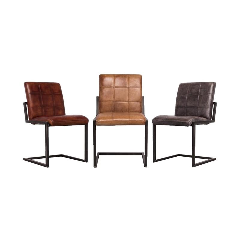 Zooff designs sil eetkamerstoel eetstoel stoelen for Eettafel stoelen cognac