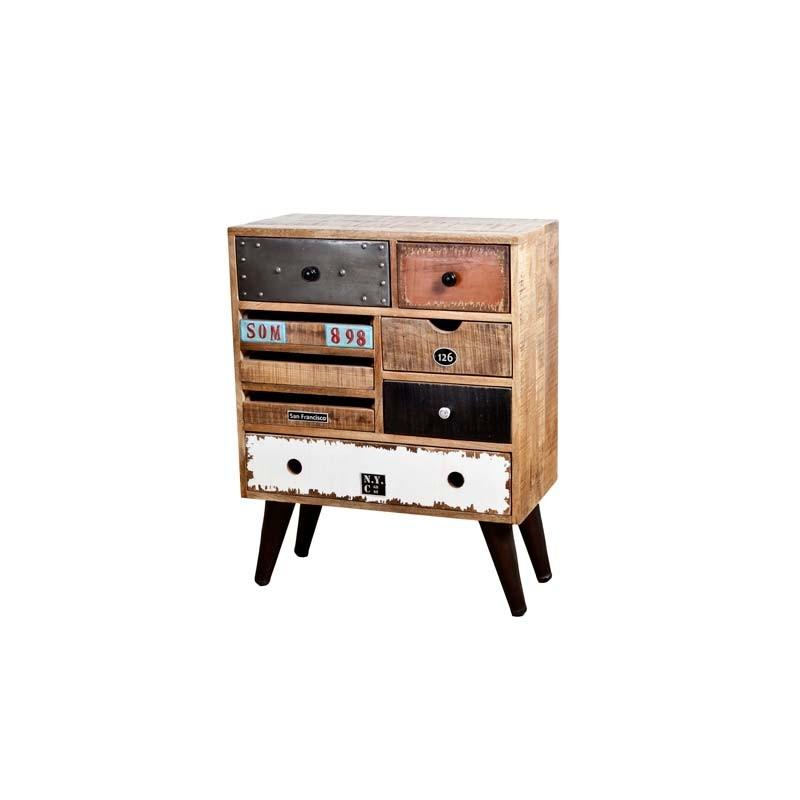 eleonora vintage ladeblok dressoir ladekast kasten