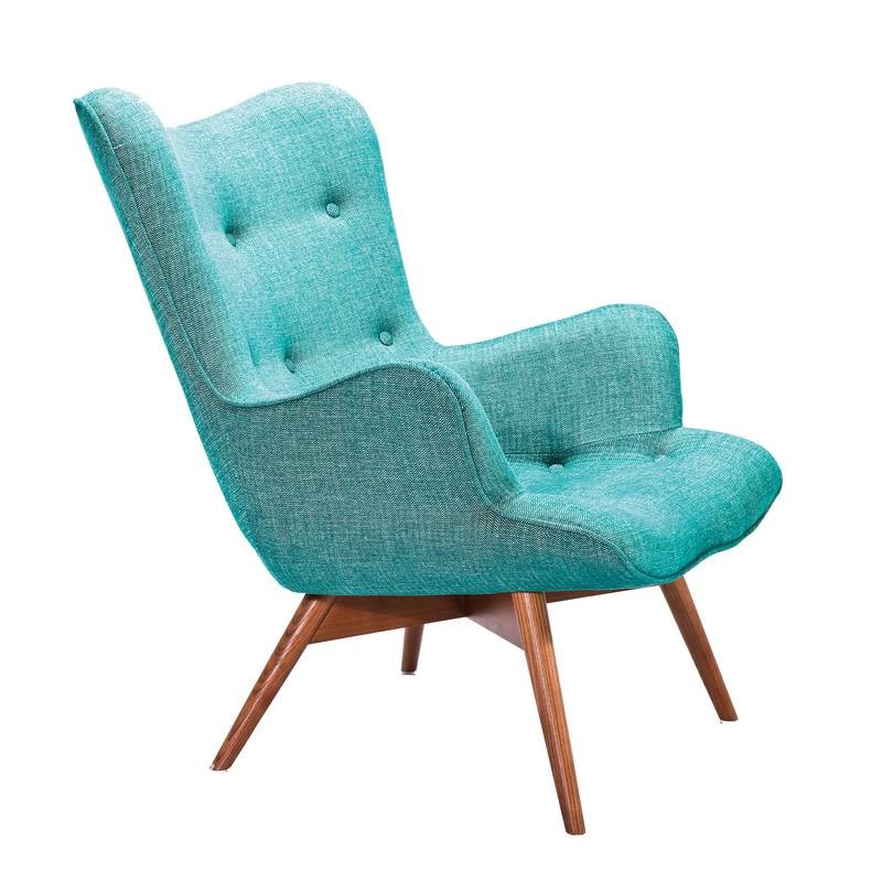 Kare design angels wings fauteuil armstoel groen for Fauteuil groen